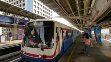 Transportation in Thailand: Bangkok Skytrain | by Asian Development Bank